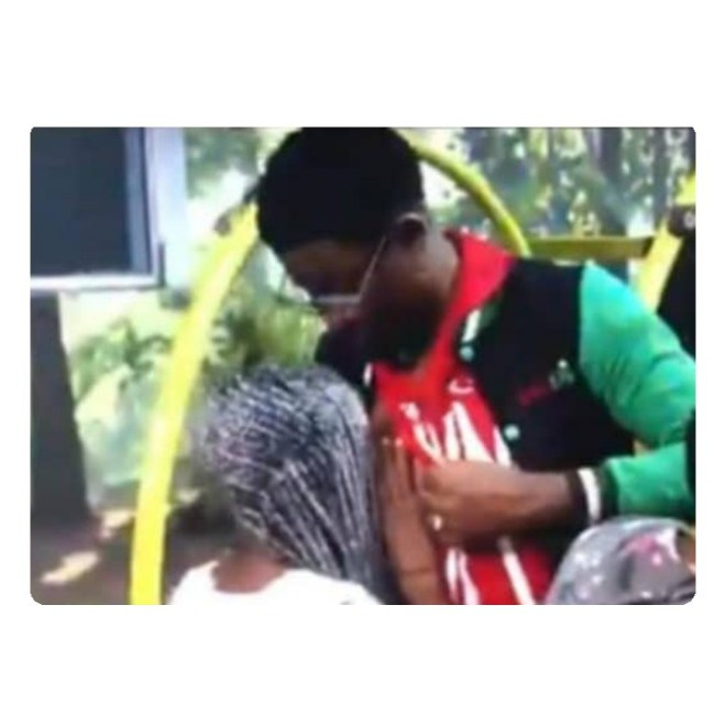 #BBNaija : Diane Caught Sucking Seyi's Nipple (Video)