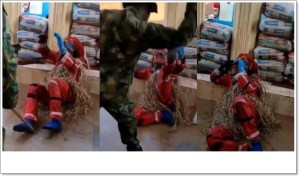 Masquerade Flogged By A Soldier, Begs For Mercy (Video)