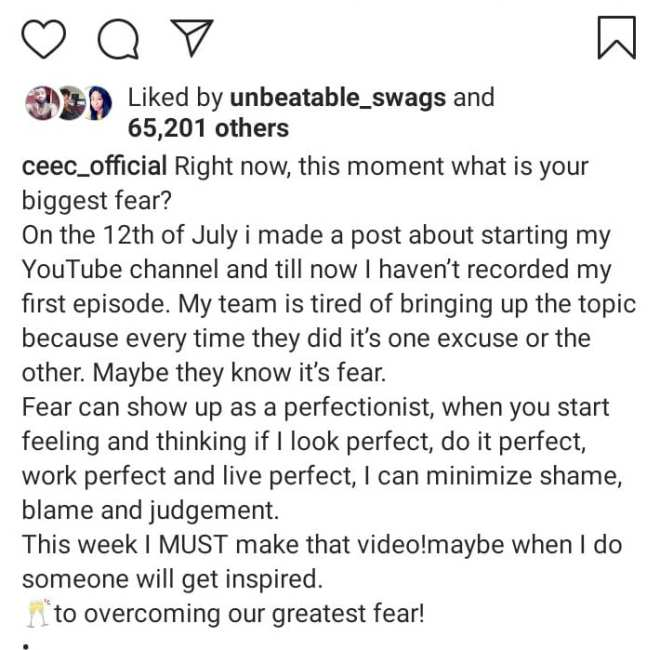 Cee-C Reveals Her Next Big Move