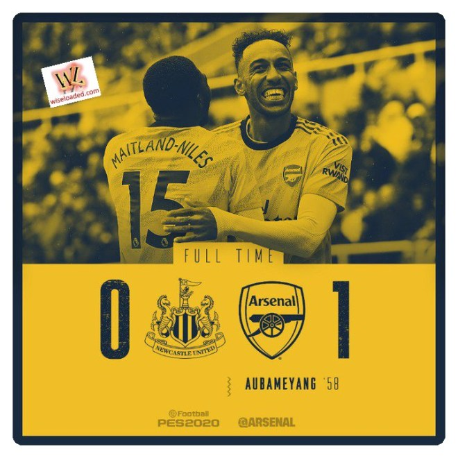 Newcastle vs Arsenal 0-1 - Highlights