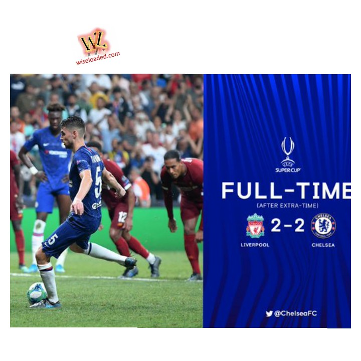Liverpool vs Chelsea 2-2 (PEN 5-4) Highlights