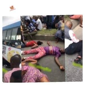 Cement Truck Crushes BRT In Ikorodu, Many Feared Dead (Video)