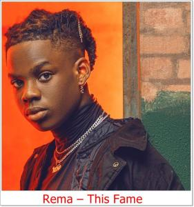 Rema This Fame (Mp3 Download)