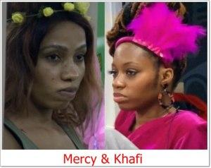 #BBNaija: Mercy Reveals Why She Nominated Khafi