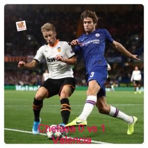 Chelsea vs Valencia 0-1 - Highlights