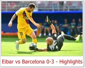 Eibar vs Barcelona 0-3 - Highlights