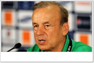 Rohr Speaks On Tammy Abraham's Refusal To Play For Super Eagles