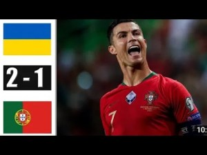 Ukraine vs Portugal 2-1 - Highlights