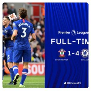 Southampton vs Chelsea 1-4 - Highlights