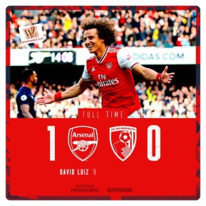 Arsenal vs Bournemouth 1-0 Highlights