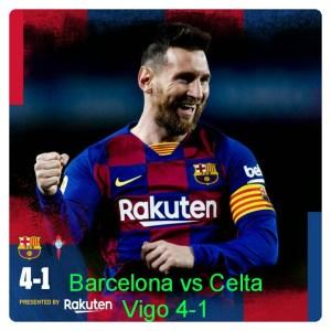 Barcelona vs Celta Vigo 4-1 - Highlights