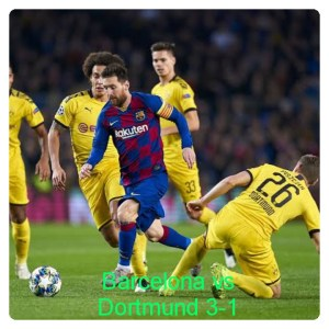 Barcelona vs Dortmund 3-1 - Highlights