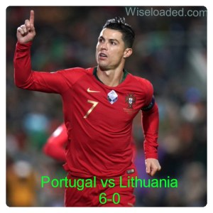 Portugal vs Lithuania 6-0 - Highlights