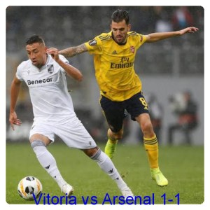Vitoria vs Arsenal 1-1 - Highlights