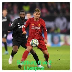 Salzburg vs Liverpool 0-2 Highlights