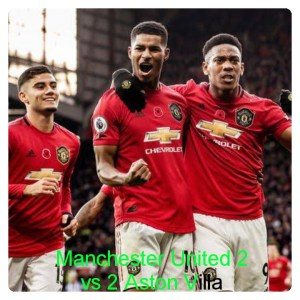 Manchester United vs Aston Villa 2-2 Highlights (Download Video)