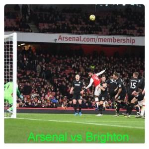 Arsenal vs Brighton 1-2 Highlights (Download Video)