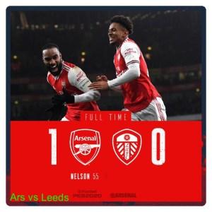 Arsenal vs Leeds United 1-0 Highlights