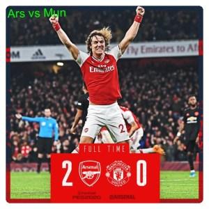 Arsenal vs Manchester United 2-0 Highlights
