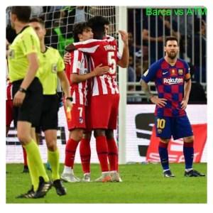 Barcelona vs Atletico Madrid 2-3 Highlights (Download Video)