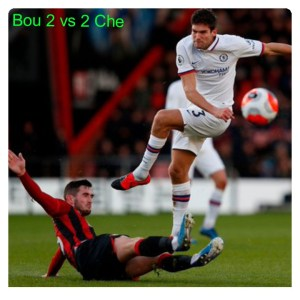 Bournemouth vs Chelsea 2-2 Highlights