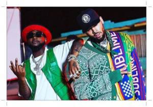 See How Chris Brown Surprises Davido At His A Good Time Tour In LA (Video)