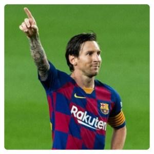 Lionel Messi in Barcelona vs Atletico Madrid