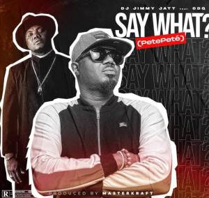 DJ Jimmy Jatt ft. CDQ on the song title Say What? (PetePete)