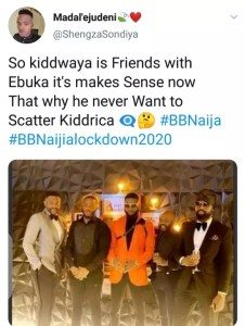 Photo Of Ebuka and Kiddwaya Together Before The Show Surfaces Online