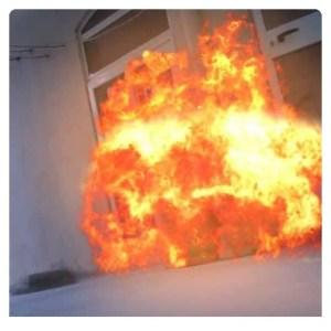 Big Brother Cameroon aka Biggy237 on fire