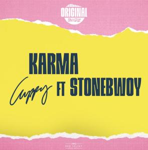 Cuppy's music titled Karma ft. Stonebwoy