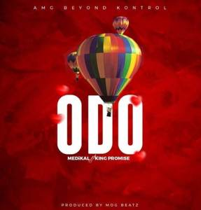 A record song by Medikal ft. King Promise titled Odo audio and video
