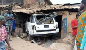 SUV Rams Into Building... 2 dead, Many injured