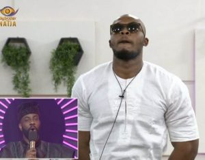 BBNaija live eviction, Eric evicted from the house