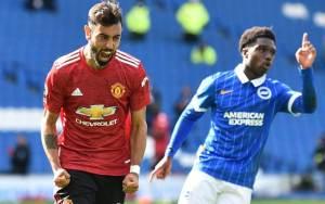 Brighton vs Man Utd 2-3 Highlights