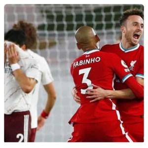 Liverpool vs Arsenal 3-1 Highlights
