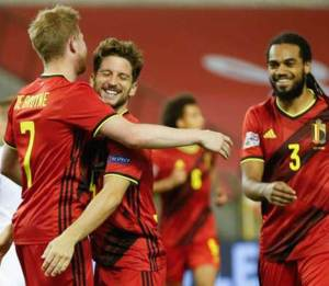Belgium vs Iceland 5v1 Highlights