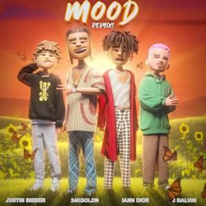 24kGoldn & iann dior - Mood (Remix) ft. Justin Bieber, J Balvin