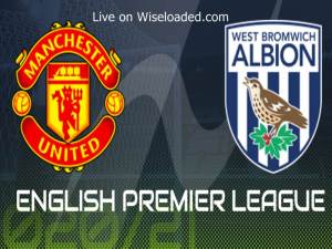 LIVE: Manchester United vs West Brom - Lineup & Scores (Video)