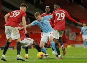 Man Utd vs Man City 0-0 Highlights