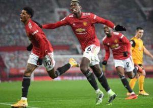 Manchester United vs Wolves 1-0 Highlights