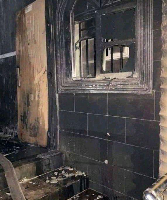 Sunday Igboho house was burnt