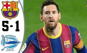 Download La Liga Highlights: Barcelona vs Deportivo Alaves 5-1 Highlights.