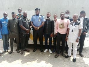 Oyo State Assistant Commissioner of Police, Honourable Femi Adeyemi and Youths