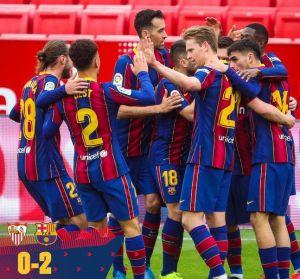Sevilla vs Barcelona 0-2 Highlights