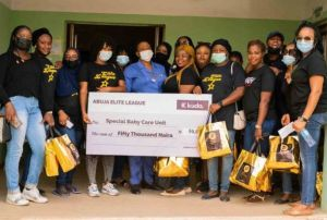 Erica Birthday: Abuja Elites Presents Loads Of Gift To Hospital (Photos)