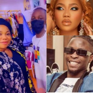 """""""Our Presido Is Here"""" - Toyin Lawani Welcome Laycon In Style (Video)"""