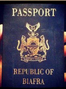 Biafra international passport