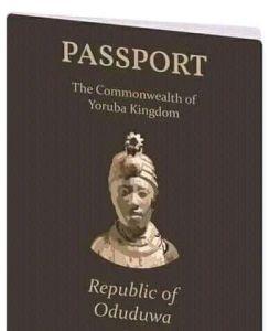 Oduduwa international passport