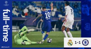UCL: Real Madrid vs Chelsea 1-1 Highlights (Download Video) #RMACHE